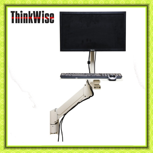 Thinkwise L201floor Stand Dual Lcd Monitor Vertical Pole Mount ...