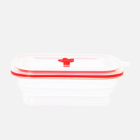 Lock On Top Lid Reheatable Food Container For Kids