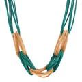 צבעוני חדש אופנה עלה Rhinestone שרף קצר נשים צווארון קולר שרשרת הצהרה תכשיטים N2571