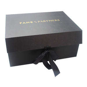 Printed Luxury High Quality Foldable Cardboard Paper Wedding Dress Gift Boxes