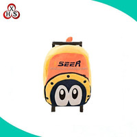 promotion cute plush +pp luggage for sale, child luggage sale, cheap used kids luggage for sale