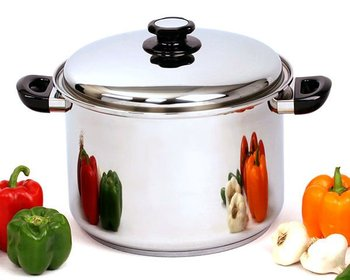 Stock Pot T304 Surgical Stainless Steel Waterless Cookware