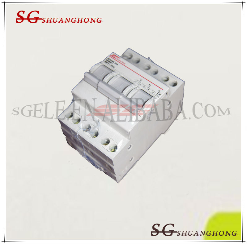 Ac/dc Disconnect Switch Changeover Switch Suitable For Din Rail ...
