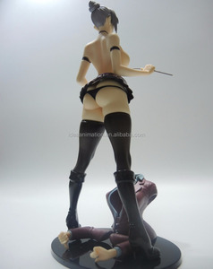 Oem custom high quality 3D PVC Japanese sexy action figure nude anime figure