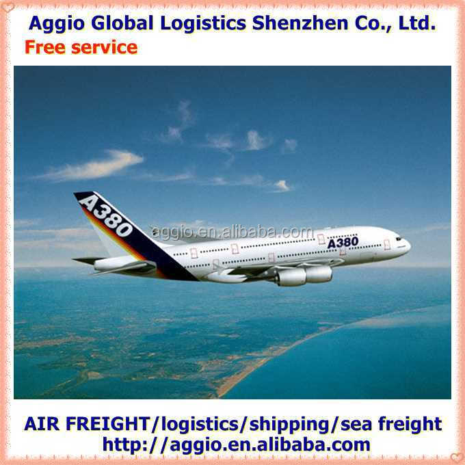 Competitive air freight from China for sable nail liner brush accessories air logistics