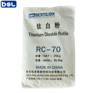 China supplier nanoparticlesTitanium Dioxide for Glass
