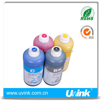 Dye-sublimation ink works on polyester / synthetic fabric