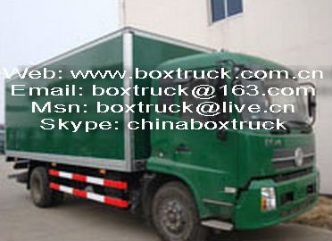 FRP plywood truck body