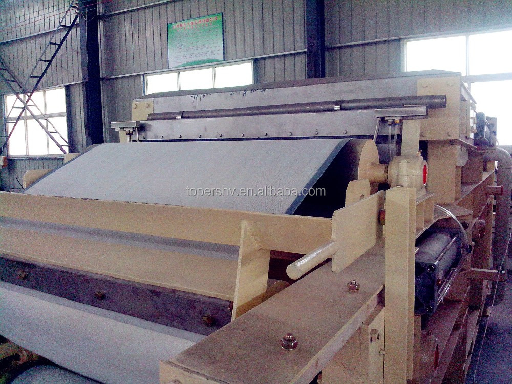 Chemical precipitation water treatment, sludge dewatering belt filter press with best price for sale.