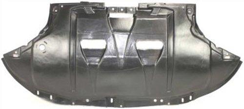 Crash Parts Plus Front Engine Splash Shield Guard for Audi A4, A4 Quattro, RS4, S4 AU1228102
