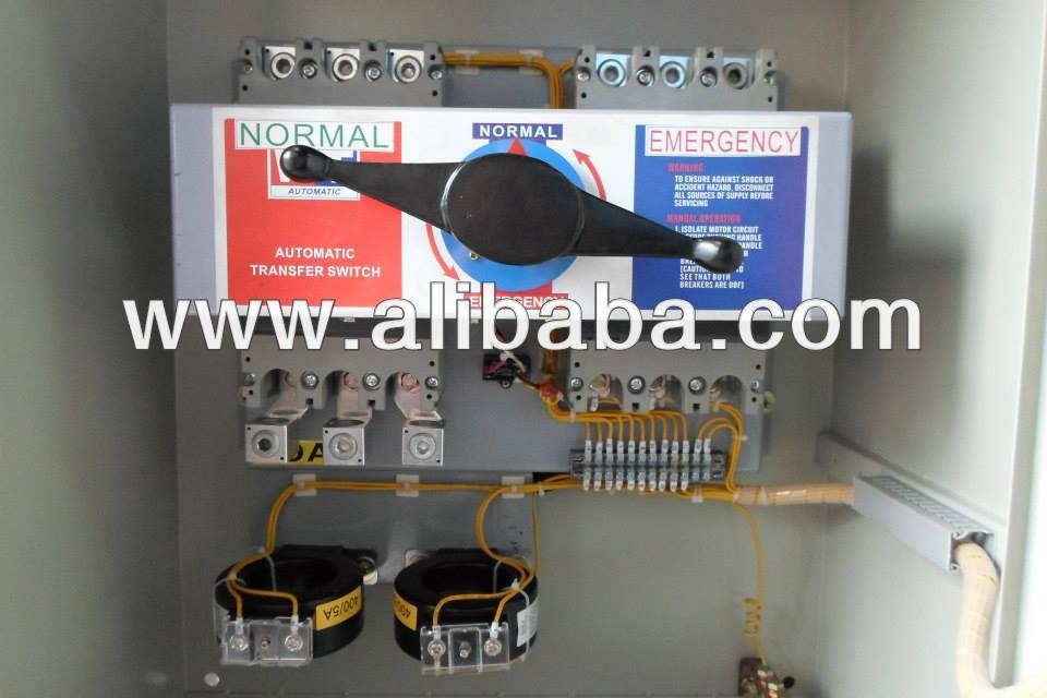AUTOMATIC-TRANSFER-SWITCHES-MANUAL-TRANSFER-SWITCH-PANEL Generator Transfer Switch Wiring on