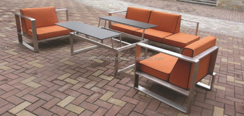 Stainless Steel Furniture Sofa Set