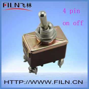 2 Way 4 Pin On Off Vintage Toggle Switch Buy Vintage Toggle Switch