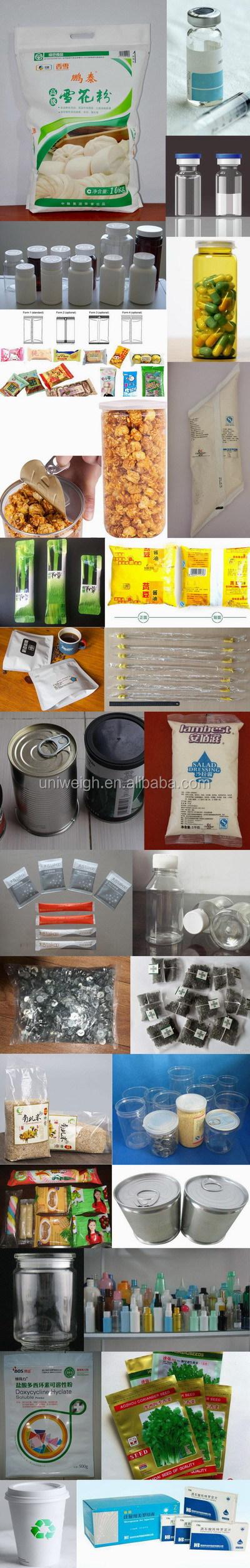 500-1000kg powder granule corn wheat rice sand fertilizer catalyst breeze calcium cement concrete ton bag weight packing machine