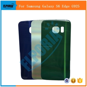 For Samsung Galaxy S6 Edge G925 Battery Back Cover Housing Battery Door Back Cover Replacement Parts