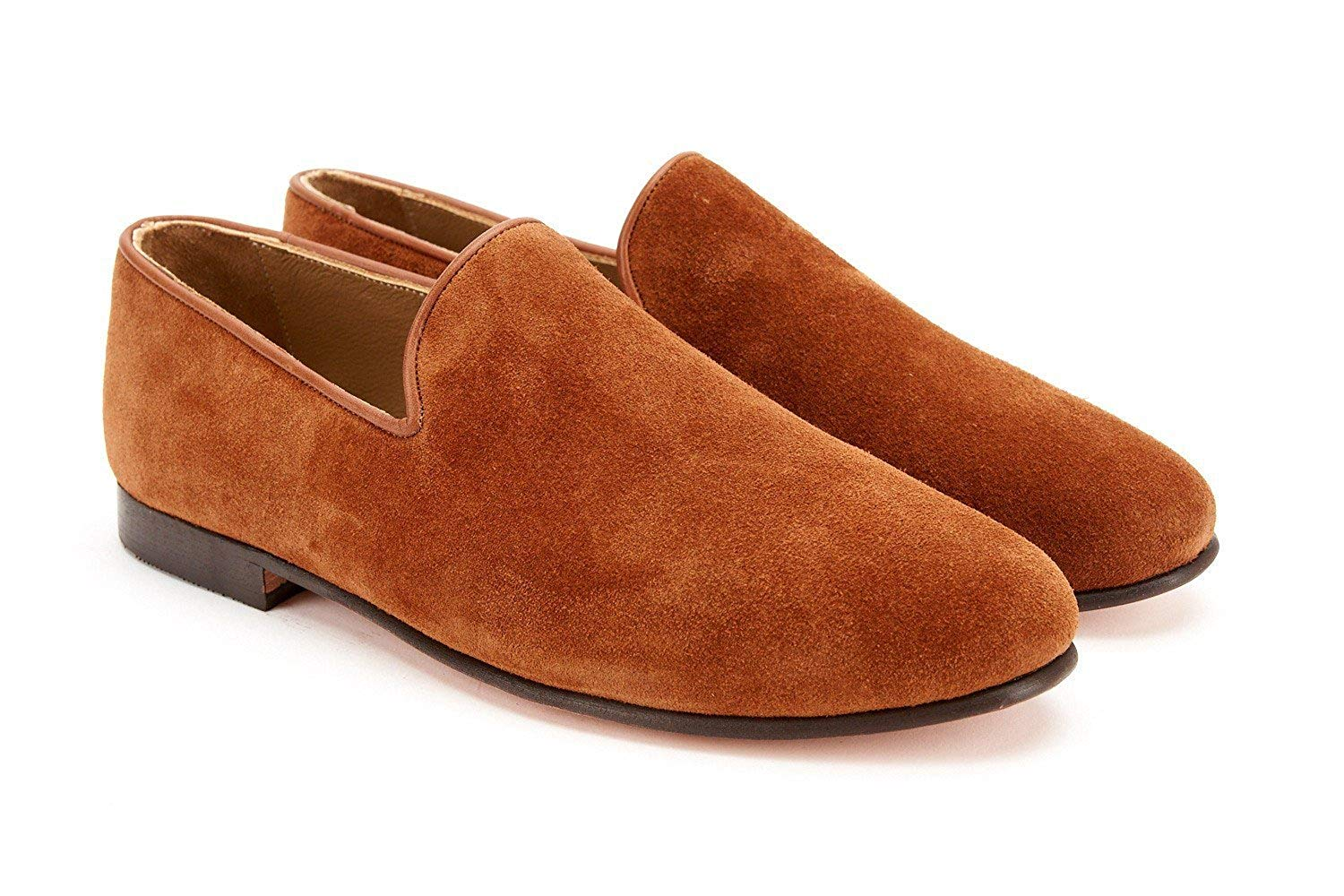 1b6572ddf9a Get Quotations · RES IPSA Snuff Suede Loafers