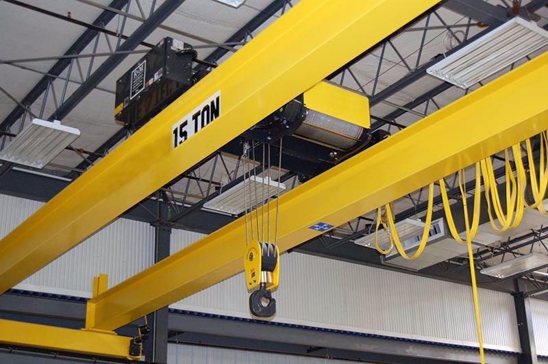 Training For Overhead Crane : Ton industrial double hook bridge cranes mobile