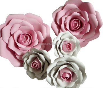 Handmake Giant Paper Flower Wall Wedding Flowers Buy Decorative Wall Flowers Wall Artificial Flowers Cheap Paper Flowers Product On Alibaba Com