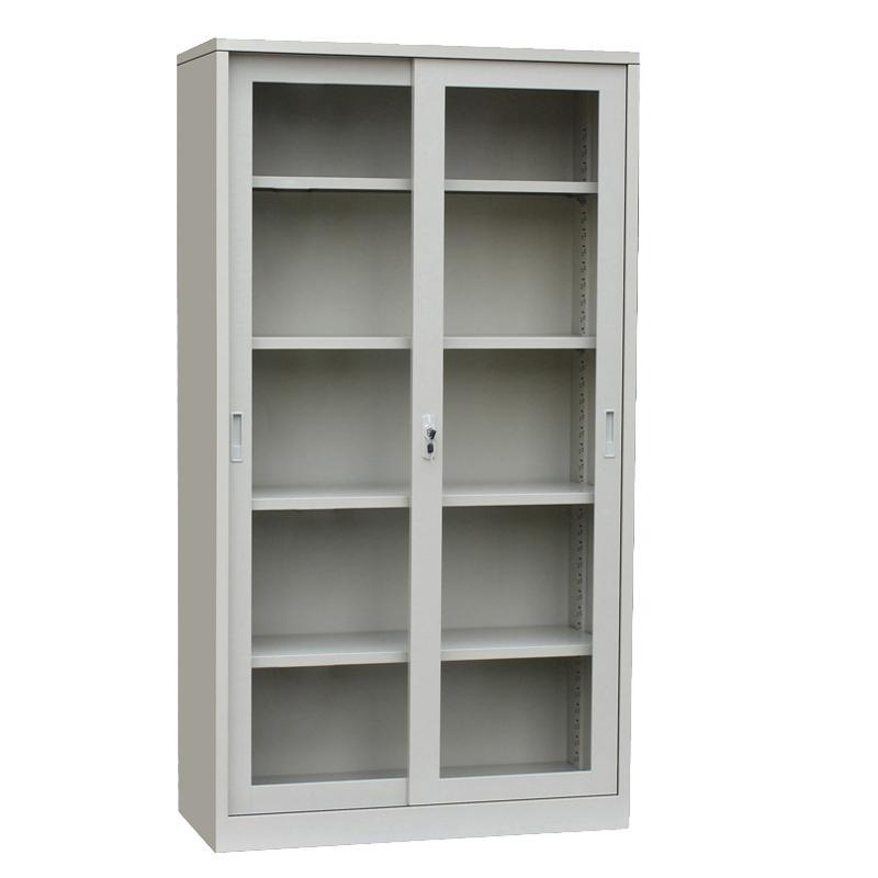 Metall Weiß Glastür Bücherschrank - Buy Product on Alibaba.com