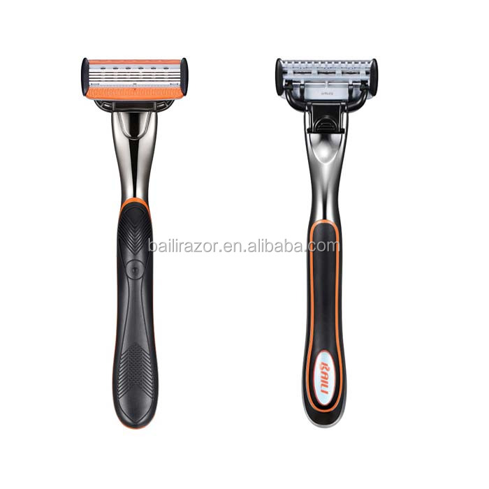 Men and Womens 6 Blade Shaving System Razor for Closer shaving