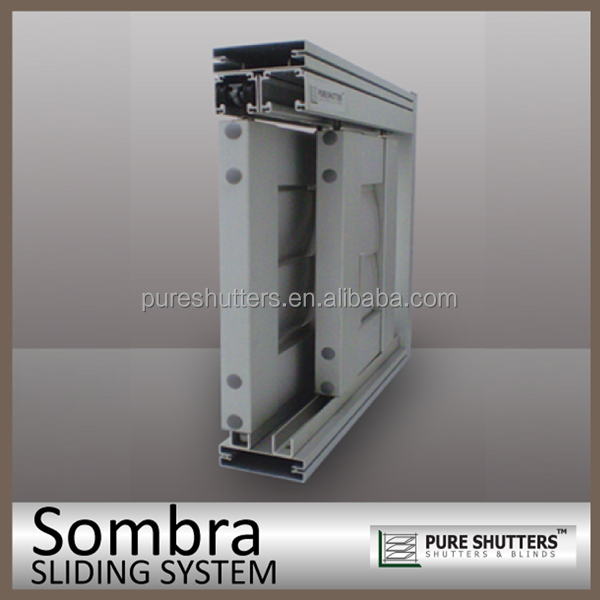 Aluminum Sliding Plantation Interior Security Window Shutters Buy Security Window Shutters