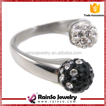 Valentineu0027s Day Pussy Metal Zircon Stone Ring