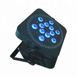 12x15w DMX Wireless Battery powered LED Par Can