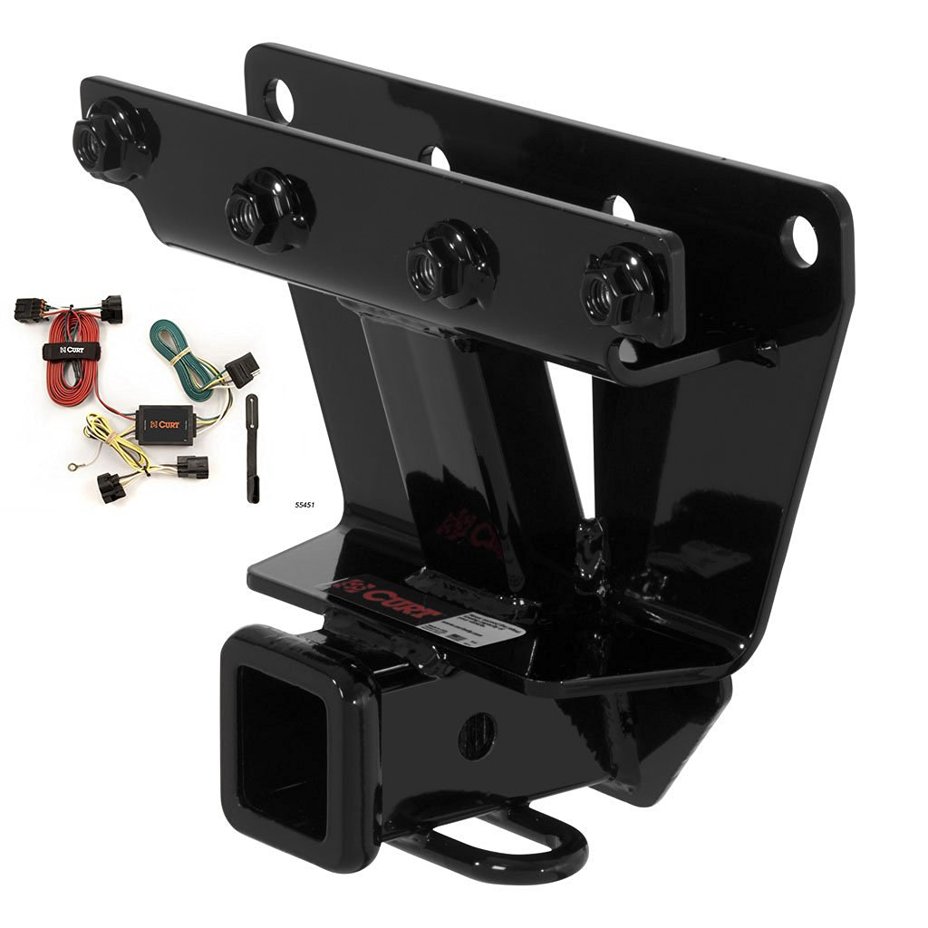 Get Quotations · CURT Class 3 Trailer Hitch Bundle with Wiring for  2005-2006 Jeep Grand Cherokee -