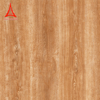 Hot Sale 4040 Decorative Wood Looks Brown Glazed Tiles Polished Simple Decorative Wood Wall Tiles