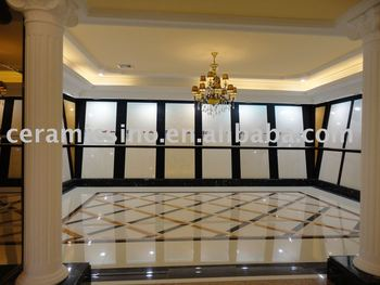 Decorative Ceramic Floor Tile Wall