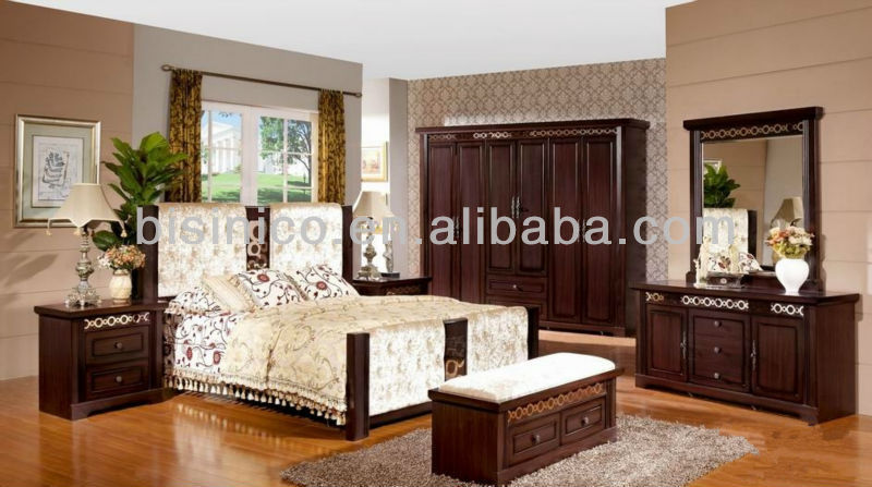 Vintage Design Panel Bed W Back Cushion,Classical Solid Wooden Beds Bedroom  Furniture,Asian Style Bedroom Furniture Set - Buy Design Furniture Bedroom  ...