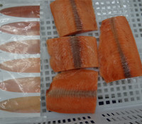 High Quality Frozen Pink Salmon Fish Portion For Sale