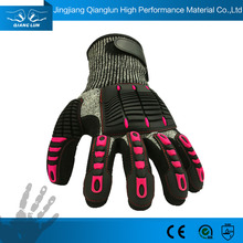 Plastic Protection Safety Gloves Cut Resistant Working