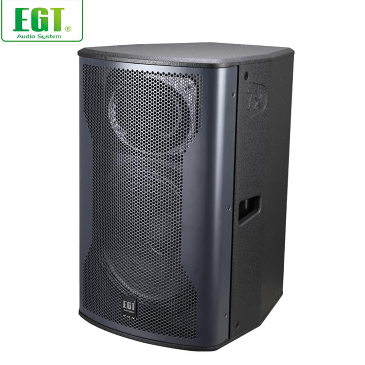 High powerful 2-way audio speaker multi-functional loudspeaker passive full range speakers