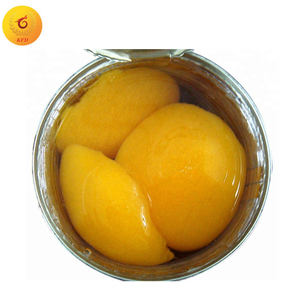 Fresh canned fruit 425g yellow peach in syrup
