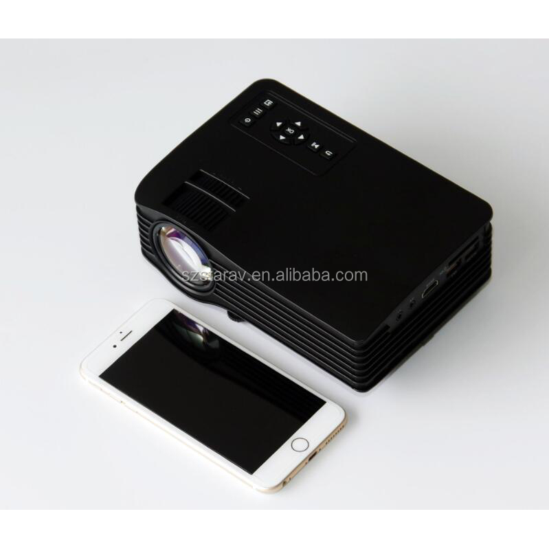 UNIC UC36 Portable LED Projector 640x480 Multimedia Home Cinema Beamer Proyector support 1080P PC RGB USD AV