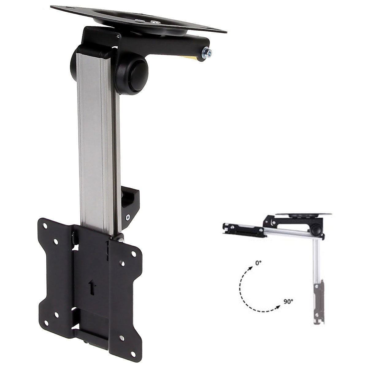 stacking adjust mounts us touch ceiling mount monitor stack dual products