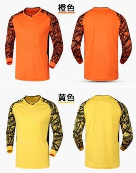 796b3c400 Best quality custom design long sleeve soccer jersey goalkeeper shirts
