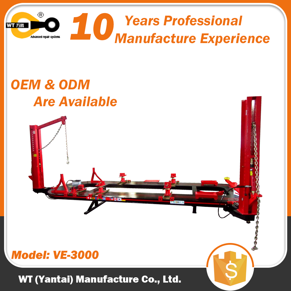 WT VE-3000 Used Auto Body Tuck Frame Machine