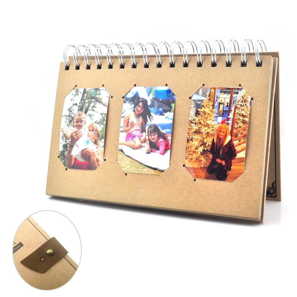 Buy Hellohelio Vintage Book Style Photo Album Book Album For