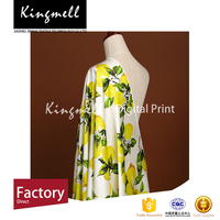 China supplier silk satin dress styles satin silk fabric elastic fabric