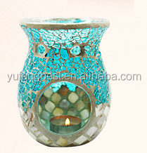 Handmade mosaic glass oil lamp modern oil lamps