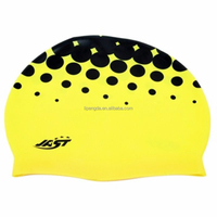 Big Waterproof Summer Sport Diving Promotional Silicone Swimming Cap/Colorful Customized Logo Available Print Silicone Swim Cap