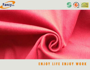 Cotton spandex dyed twill /brush/peach fabric10+SB10*10+70D 185*46