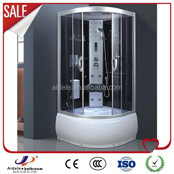 China factory shower room steam sauna shower combination