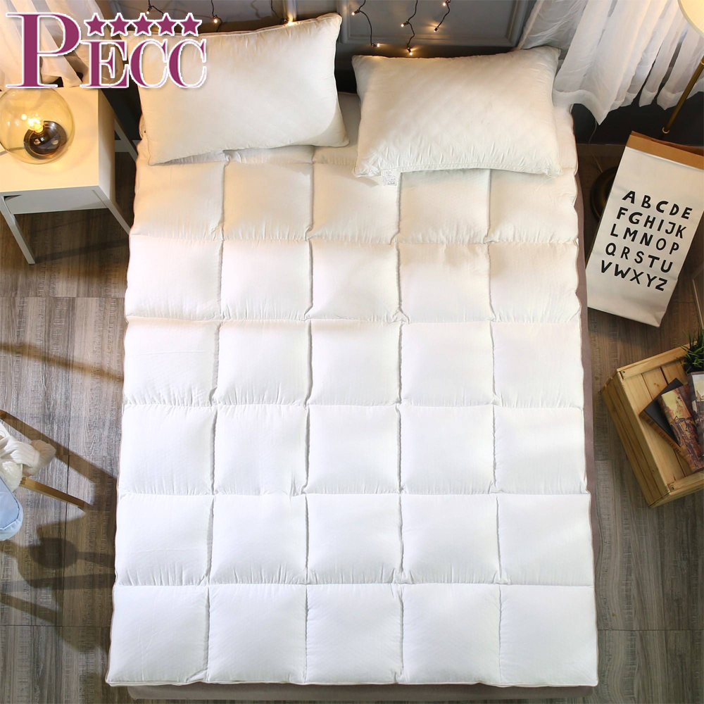 Natural Cotton Folding Oriental Sleep Well Mattress Topper Pad