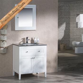 Waterproof solid wood vanity bathroom cabinet buy solid for Waterproof bathroom cabinets