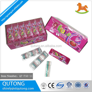 Halal Fruit juicy roll gummy soft candy