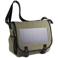 Wholesale Solar Bag Laptop Bag with 7W Waterproof Solar Panel Charger