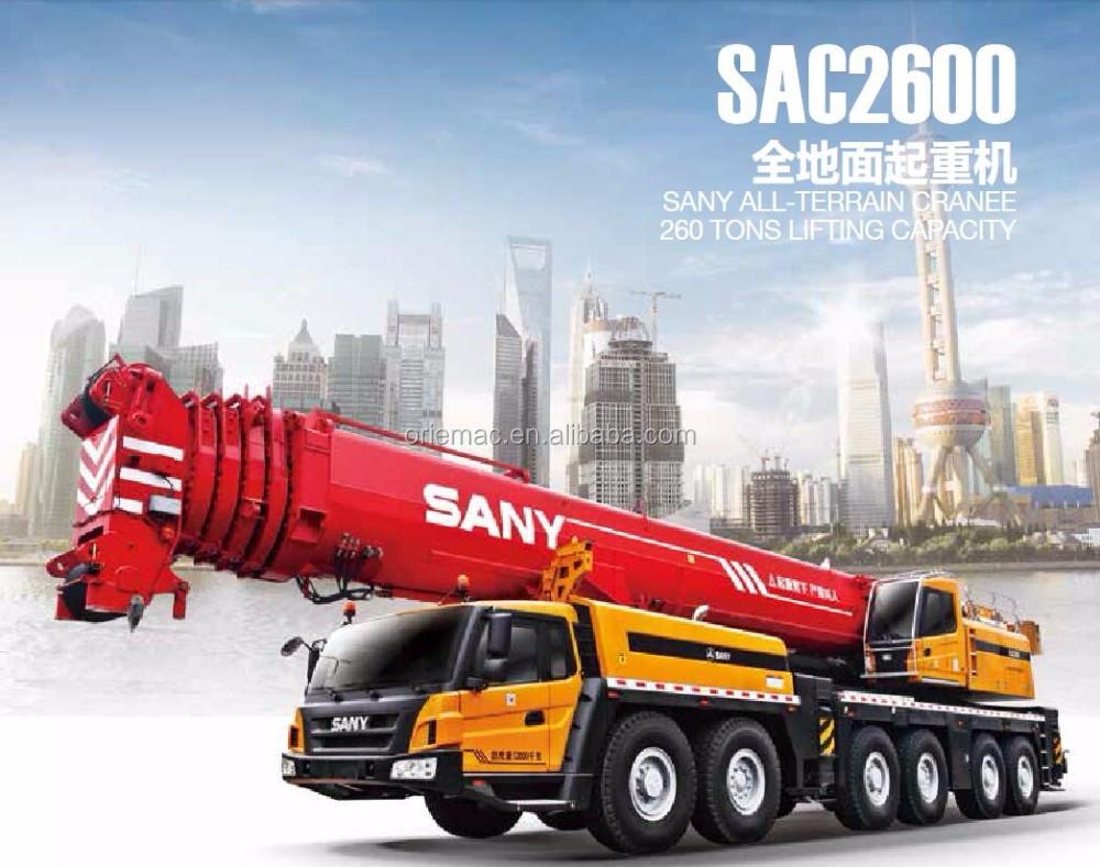 Mobile Crane Dubai : Sany mobile crane in dubai sac ton all terrain